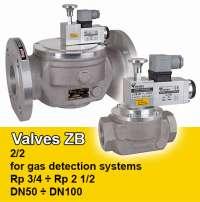 Valves zb for gas