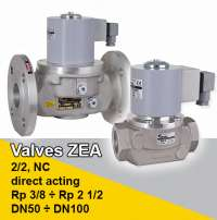 valves direct acting