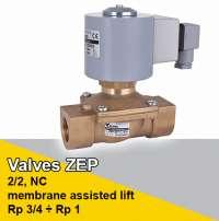 ZEP type valves